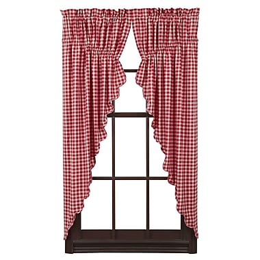 August Grove Collins Curtain Panels (Set of 2)