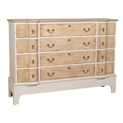 August Grove 12 Drawer Basil Cottage Accent Chest; Gray
