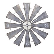 August Grove Oversized Windmill 48'' Wall Clock