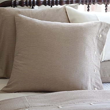 August Grove Zona Stripe Euro Pillowcase; Euro