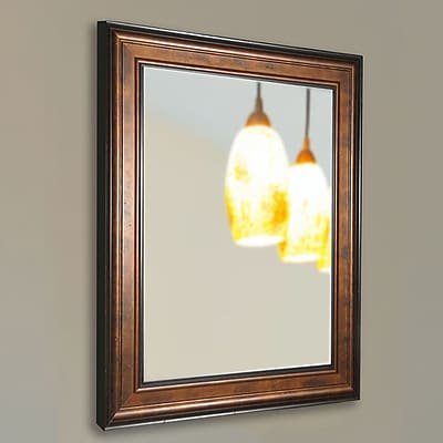 August Grove Wall Mounted Mirror; 43.25'' H x 33.25'' W