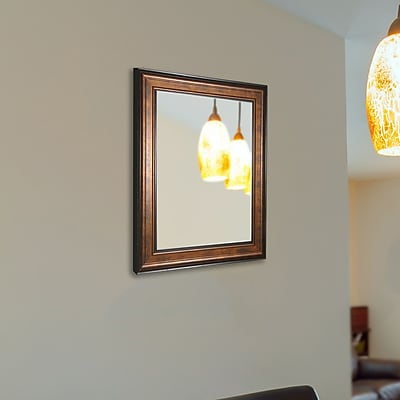 August Grove Wall Mounted Mirror; 63.25'' H x 43.25'' W