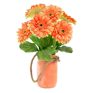 August Grove Bouquet of Gerbera Daisies