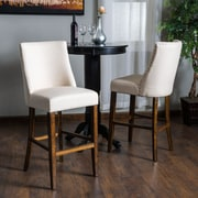 August Grove Cottonwood 30.6'' Bar Stool (Set of 2)
