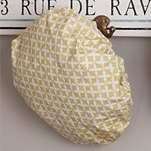 August Grove Caille Shower Cap; Dijon Yellow