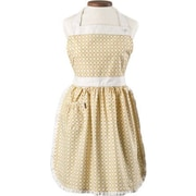 August Grove Caille Apron; Dijon Yellow