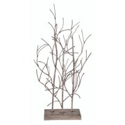 August Grove Wood Tree Table Decoration Figurine