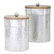 August Grove 2 Piece Brant Lidded Decorative Jar Set