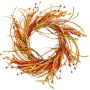 August Grove 22'' Fall Grass and Flower Wreath