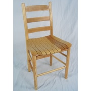 Dixie Seating Adult Ladder Back Side Chair; Natural