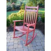 Dixie Seating Bob Timberlake Rocking Chair; Sienna Red