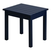 August Grove Franklin Springs End Table; Midnight