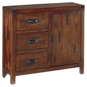 August Grove Adrienne 3 Drawer Accent Cabinet