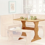 August Grove Patty Nook Kitchen Table; Natural