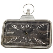 August Grove Chic Off-White Indoor Clock