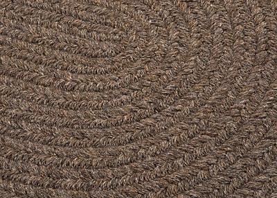 August Grove Navarrette Bark Area Rug; Round 4'