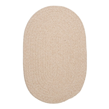 August Grove Navarrette Natural Area Rug; Oval 5' x 8'