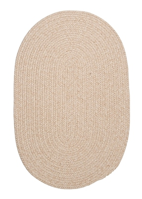August Grove Navarrette Natural Area Rug; Oval 3' x 5'