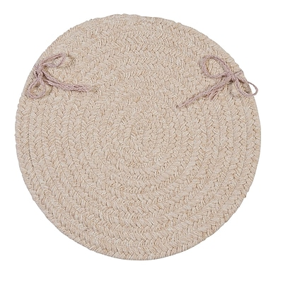 August Grove Dining Chair Cushion (Set of 4); Natural