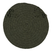 August Grove Dining Chair Cushion (Set of 4); Olive