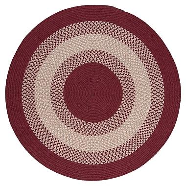 August Grove Serafin Berry Area Rug; Round 6'