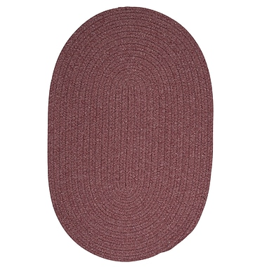 August Grove Navarrette Purple Area Rug; Round 8'