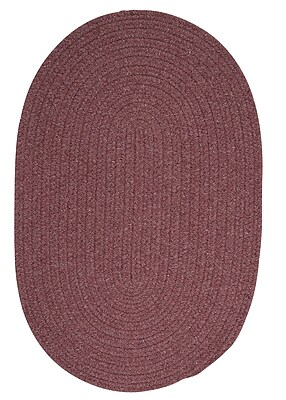 August Grove Navarrette Purple Area Rug; Oval 12' x 15'