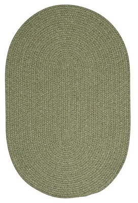 August Grove Navarrette Green Area Rug; Oval 8' x 11'