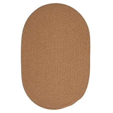 August Grove Navarrette Gold Area Rug; Round 4'
