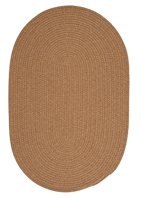August Grove Navarrette Gold Area Rug; Round 6'