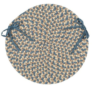 August Grove Fresnay Chair Pad; Natural