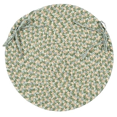 August Grove Fresnay Chair Pad Set (Set of 4); Green