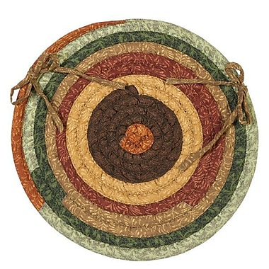 August Grove Chapelle Chair Pad Set (Set of 4); Forest