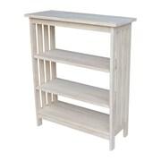 August Grove Imogene 36'' Standard Bookcase