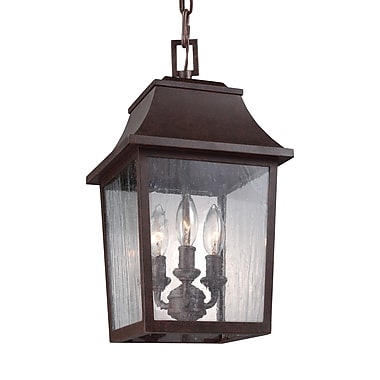 August Grove Ardin 3-Light Outdoor Lantern