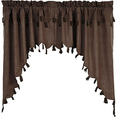 August Grove Cassie 36'' Curtain Valance (Set of 2)