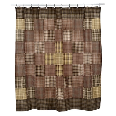 August Grove Isabell Cotton Unlined Shower Curtain