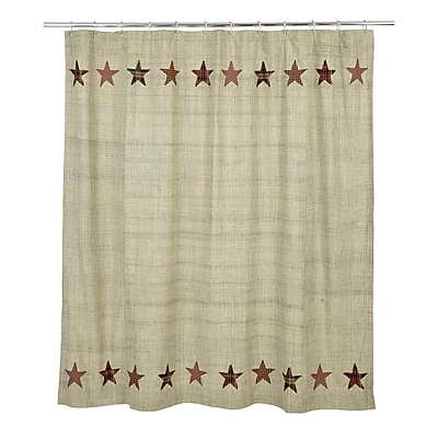 August Grove Lydia Cotton Shower Curtain