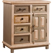 August Grove Union Point 5 Drawer / 1 Door Cabinet