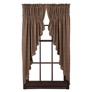 August Grove Isabell Curtain Panels (Set of 2)