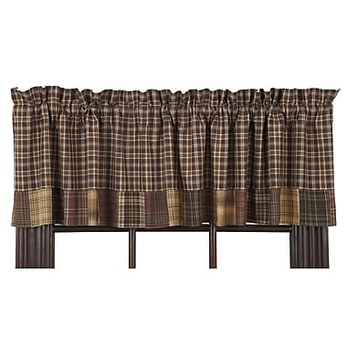 August Grove Isabell Block Border Curtain Valance