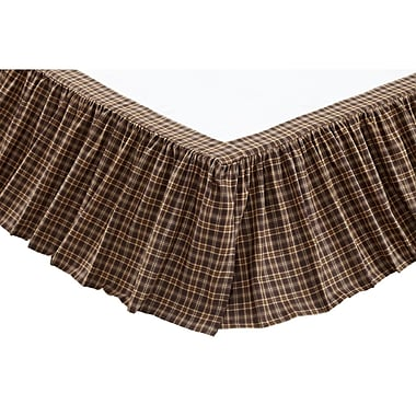 August Grove Isabell Bed Skirt; Queen