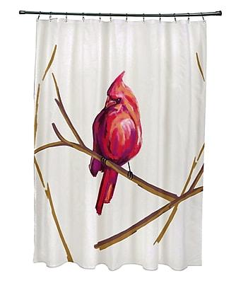 August Grove Agave Print Shower Curtain