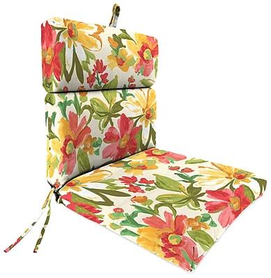 August Grove Outdoor Adirondack Chair Cushion; Elberta Sunbright