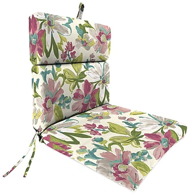 August Grove Outdoor Adirondack Chair Cushion; Elberta White