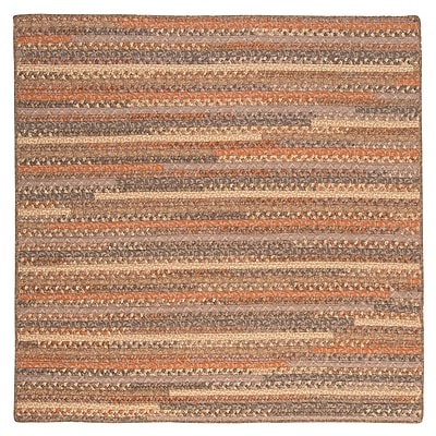 August Grove Byron Brown Area Rug; Square 10'