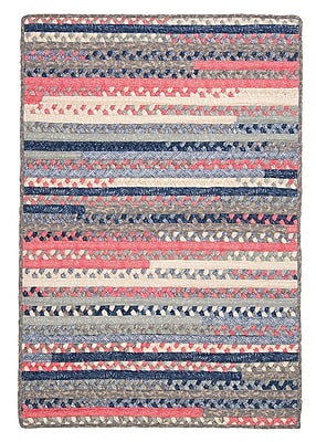 August Grove Byron Blue Area Rug; 3' x 5'