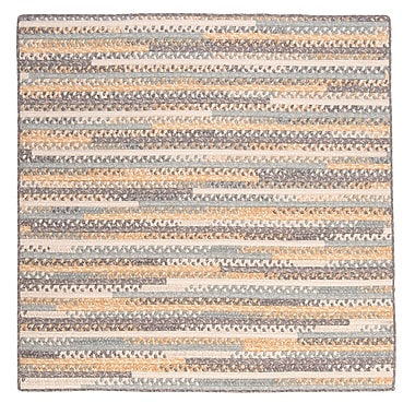 August Grove Byron Yellow Area Rug; Square 4'