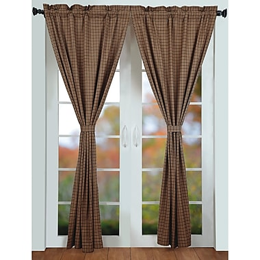 August Grove Lorena Curtain Panels (Set of 2)