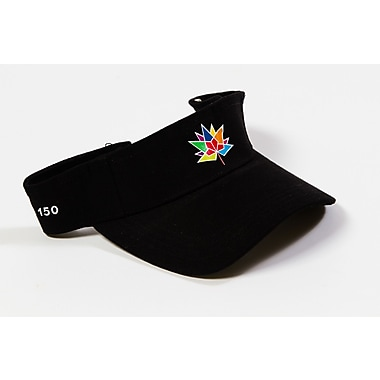 Canada 150 Celebration Visors, Black